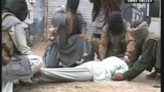 See live beating & torturing a man in public by Pathan Taliban Terrorists