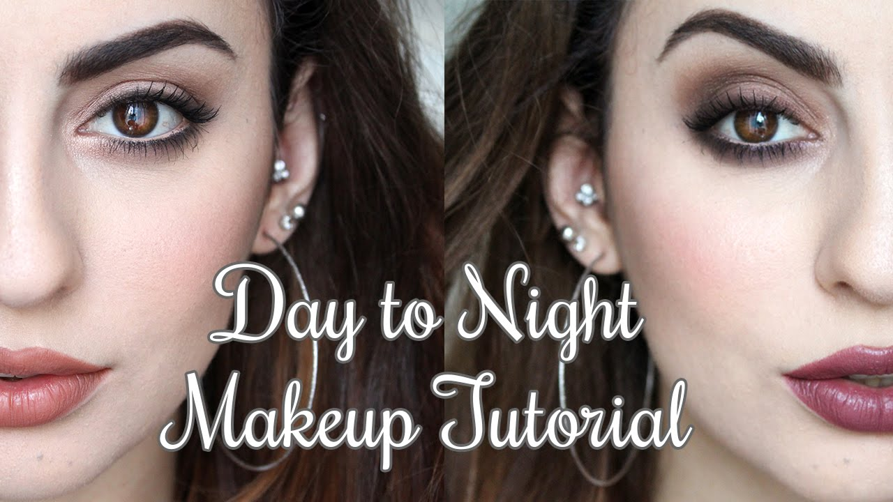 Day to night makeup tutorial feat toofaced chocolate bar palette day to night makeup tutorial feat toofaced chocolate bar palette youtube baditri Choice Image