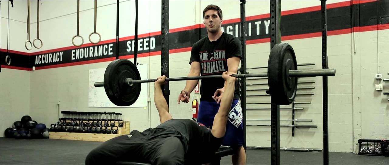 rich froning bench