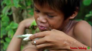 Primitive Technology - Eating delicious - Awesome cooking fish recipe