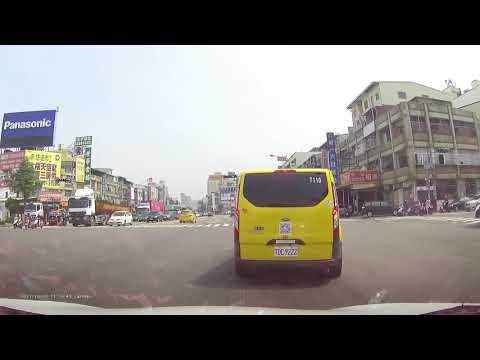 。計程車(TDC-9222)違規跨越雙白線超車右轉
