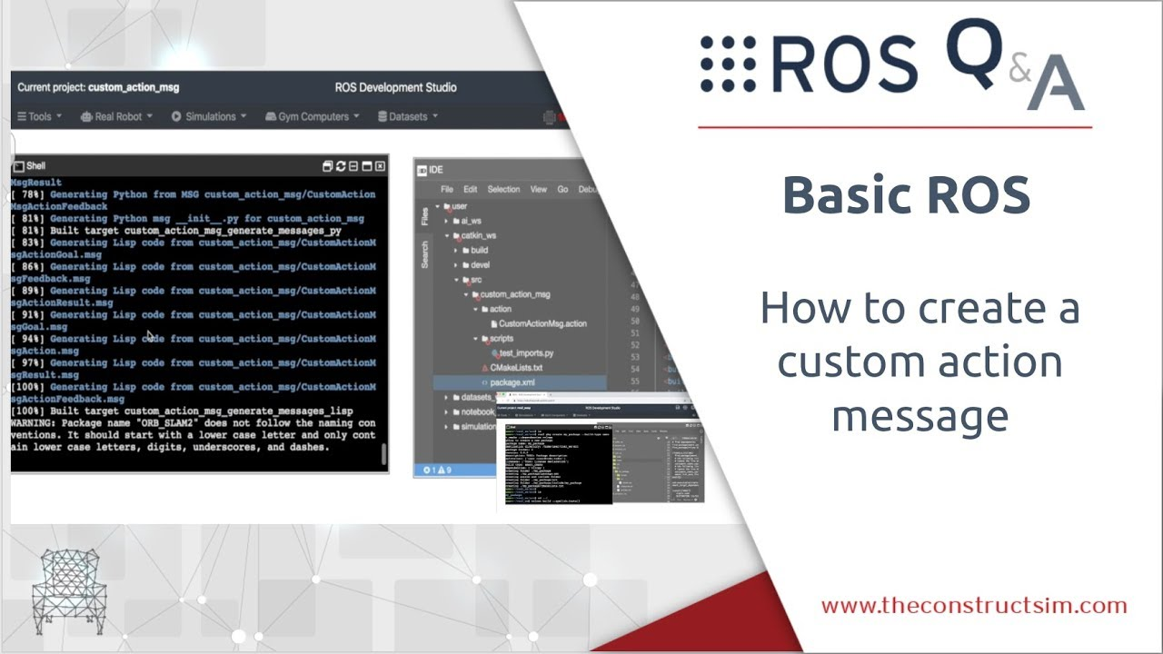 How to create a custom action message for ROS Actions | The