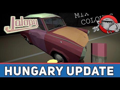 Jalopy #21 - Обновление Hungary (Венгрия)