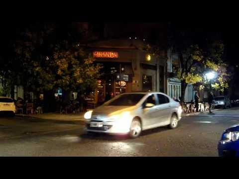 Palermo Hollywood a la noche