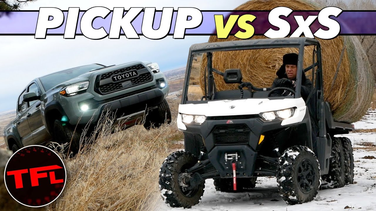 Can A Side-by-Side Work As Hard As A Truck On The Ranch? We Torture Test Them!