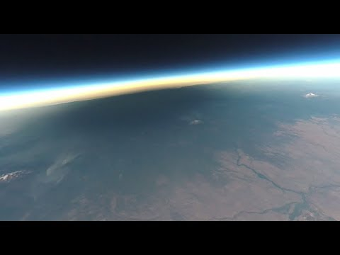 Solar Eclipse 2017 – Weather Balloon @ 75,600 ft (VIRB 360 Video)