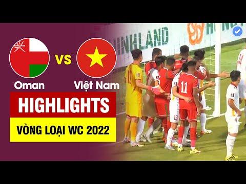 Oman Vietnam Goals And Highlights