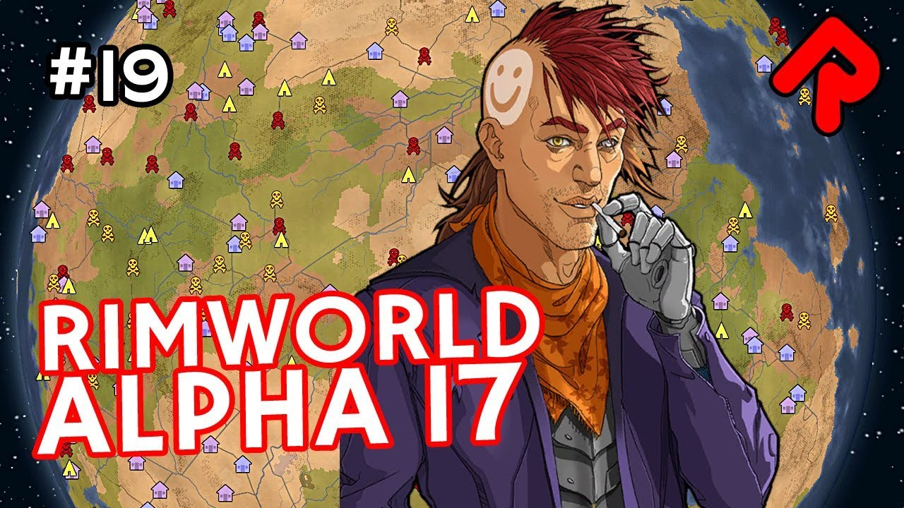Quest for the AI Persona Core! | Let's play RimWorld alpha 17 ep 19