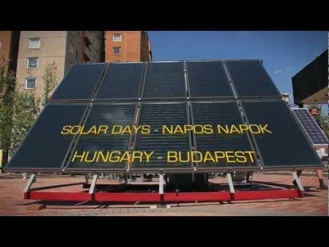 MÉGNAP: Solar Days - Budapest 2012
