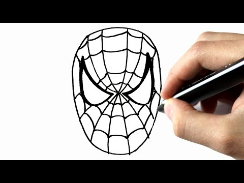 Comment dessiner l 39 homme araign e facile doovi - Dessiner spiderman facile ...