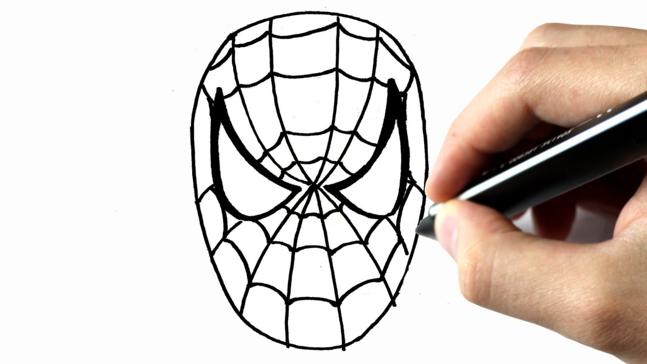 comment dessiner spiderman tuto dessin