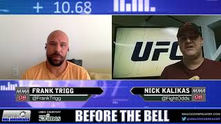 Before The Bell: UFC Fight Night 118 with Frank Trigg and Nick Kalikas