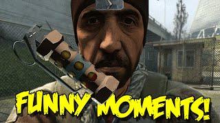 CS:GO SILVER FUNNY MOMENTS - THE FLASH BANG KILL, CSGO PLAYER ON DRUGS