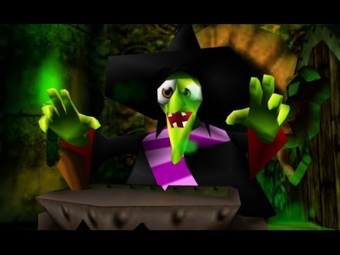 Banjo-Kazooie (Xbox Live Arcade) 100% Walkthrough Part 1 - Spiral & Mumbo's  Mountain