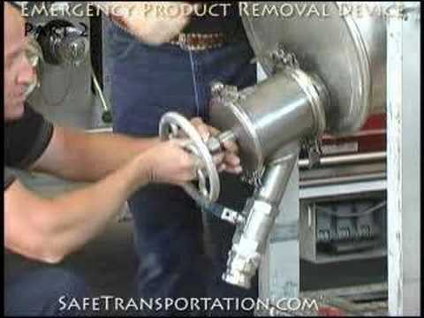 Overturned Tank - Emergency Product Removal Device (Part 2)