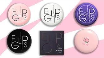 [REVIEW]  Trên tay toàn bộ phấn phủ Eglips - Eglips Powder Pacts | Gracia Tran