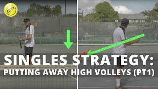 Singles Strategy: Putting Away High Volleys (Part 1)