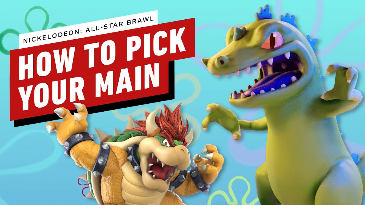 How to Choose Your Main in Nickelodeon All-Star Brawl