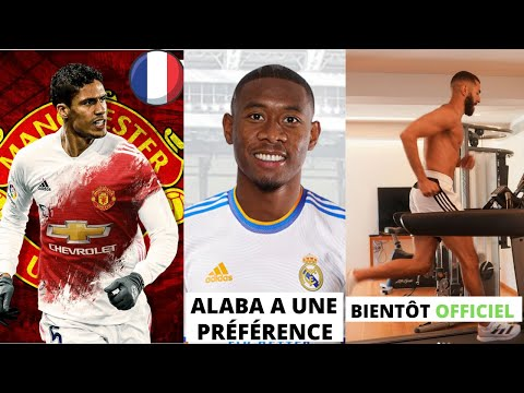 REAL NEWS#3 ! / UN 🇫🇷 POUR REMPLACER VARANE / ALABA À QUEL POSTE ? / BENZEMA BIENTOT LA GRANDE NEWS