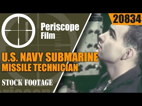 U.S. NAVY SUBMARINE MISSILE TECHNICIAN  RECRUITING FILM  WEAPONEERS OF THE DEEP 20834