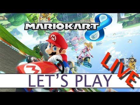 Mario Kart 8: 4 Player Split Screen - Let's Play LIVE - Platform32