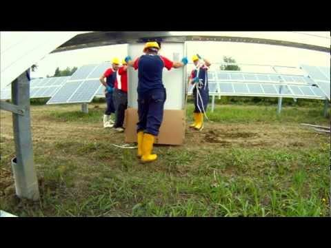 Solar Green Energy - Linea di Produzione e Installazioni.avi