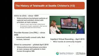 Virtually There: Telehealth at Seattle Children's