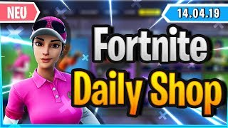 Fortnite Daily Shop *NEUER* GOLF SKIN IM SHOP (14 April 2019)
