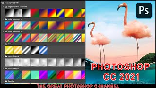 How to Get All Old Gradients in Photoshop cc 2021  2020