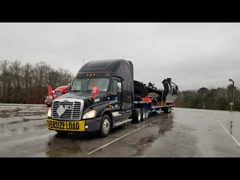 Transporting An Oversized Load With Landstar