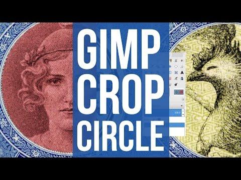 Use GIMP to Crop Circle in Image