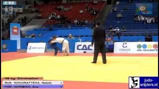 Nataliya Kondratyeva (RUS) - Ana Hormigo (POR) [-48kg]