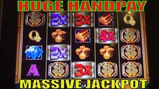 ★MASSIVE JACKPOT☆INSANE HUGE HANDPAY !☆MEGA VAULT Slot machine (IGT)★Mega Vault Story Again & Again