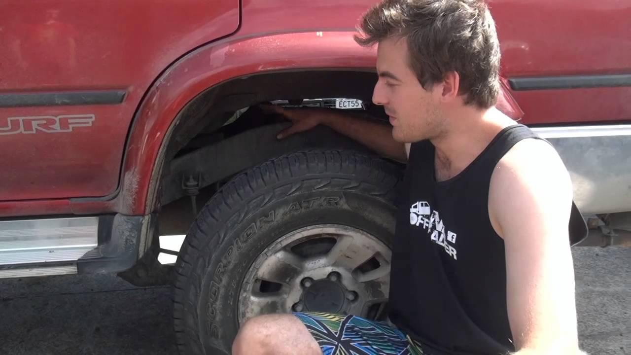 """Dodge Ram Runner >> Nz Offroader: 2"""" Body Lift Install- NzBlokes.co.nz - YouTube"""