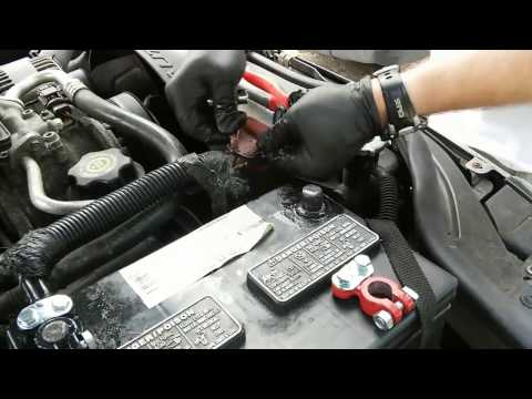 How To Replace Car Battery Posts/Terminals & Wires - Replace Battery Cable Ends