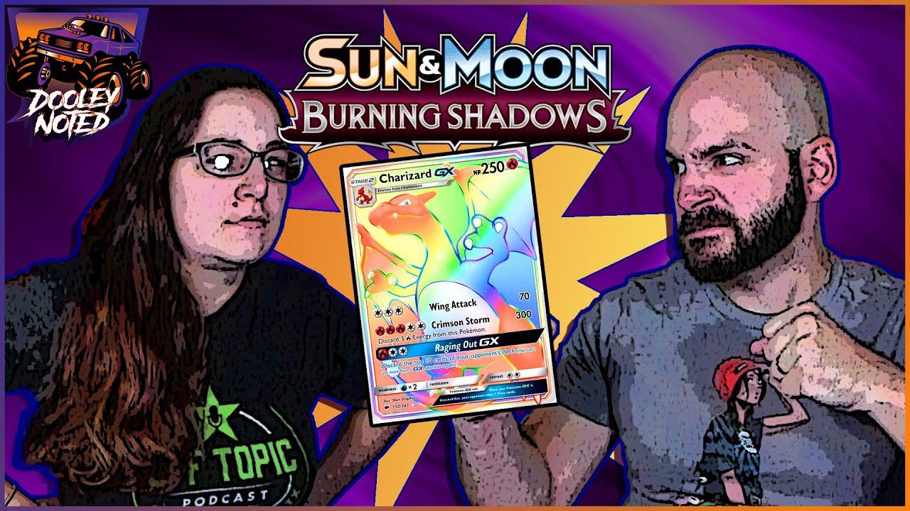 Worst Box Yet?! | Burning Shadows Pack Battle! | Jeremy vs Kat!