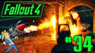 34 Preston s Magical Flamethrower Fallout 4 Playthrough PC - Survival Difficulty
