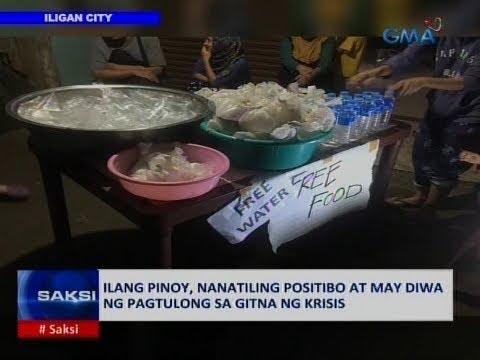 Saksi: Ilang Pinoy, nanatiling positibo at may diwa ng pagtulong sa gitna ng krisis