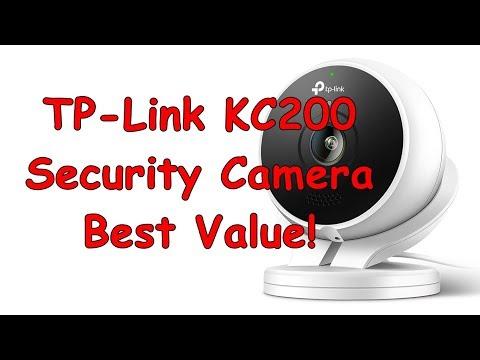 TP-Link Kasa Cam Outdoor Security Camera, KC200 - YouTube