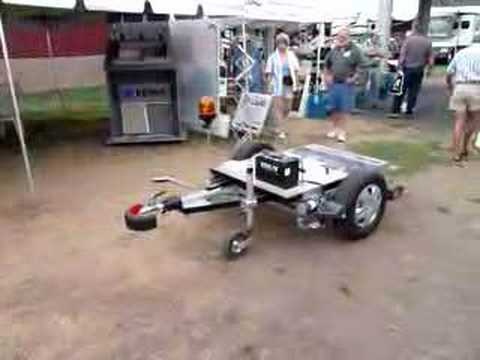 RV Remote Control Trailer Parking Machine