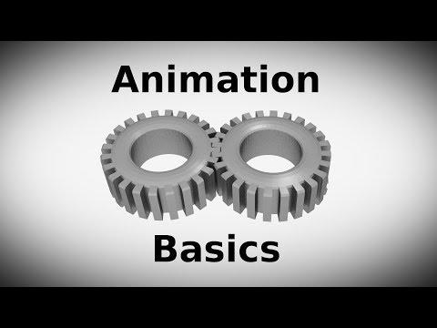 Animation Basics: rotating gears (blender) [HD]