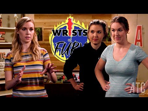Self-Helpless Podcast's Delanie Fischer & Taylor Tomlinson take on Kelsey Cook: Wrists of Fury