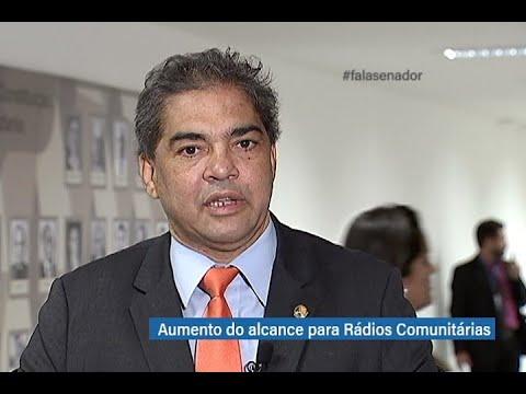 #falasenador: Hélio José comenta projeto que aumenta a frequência de rádios comunitárias