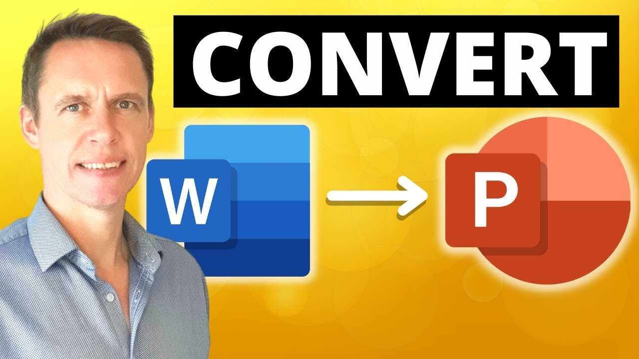 How to convert a Word document into PowerPoint slides quick and easily