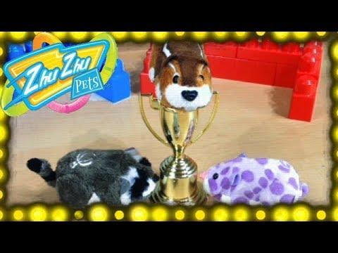 Zhu Zhu Soccer! Zhu Zhu Pets Toys Play Funny Soccer Game