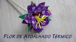 Flor de Material Reciclado – Térmico 2