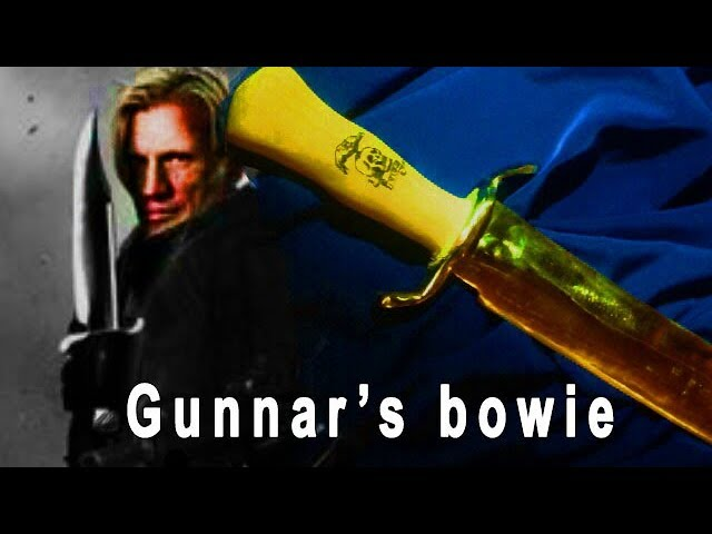 Making The Knife From The Expendables (Gunnars bowie) Tutorial