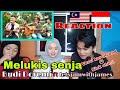 🇲🇾 Sabahan Reaction Melukis Senja KERONCONG - Budi Doremi ft. Fivein #letsJamWithJames🇮🇩