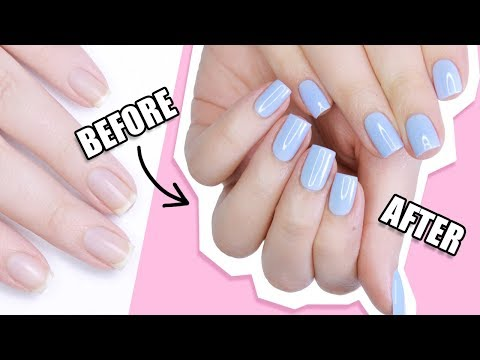 How To ACTUALLY Apply Gel Polish | ACTUALLY HELPFUL TIPS & TRICKS! - YouTube