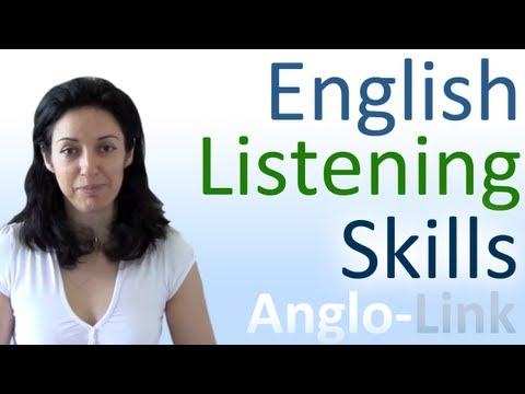 Learn English Listening Skills - How to understand native En
